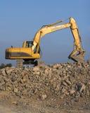 Potenza dell'escavatore Fotografia Stock