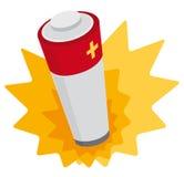 Potenza della batteria Immagine Stock Libera da Diritti