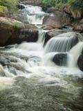Potenza della cascata della natura Fotografia Stock Libera da Diritti