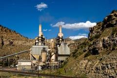 Potenza di carbone Immagini Stock