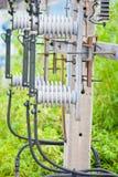 Potenza di Hight elettrica Fotografia Stock