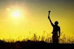 Potenza e libertà Fotografie Stock