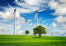 Potenza ed ecologia Fotografia Stock Libera da Diritti
