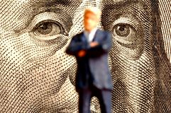 Potenza finanziaria Immagine Stock