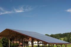 Potenza fotovoltaica Fotografia Stock Libera da Diritti