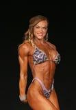 Potenza muscolare femminile Fotografia Stock