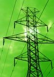 Potenza verde Fotografie Stock Libere da Diritti