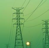 Potenza verde Immagini Stock Libere da Diritti