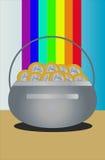 Potenziometer Gold Lizenzfreies Stockbild