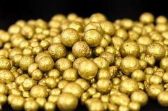 Potenziometer Gold Stockfoto