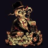 Potere dei soldi illustrazione di stock