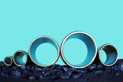 Potere dei tubi d'acciaio Immagini Stock