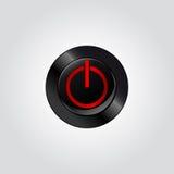 Potere del bottone Illustrazione di Stock