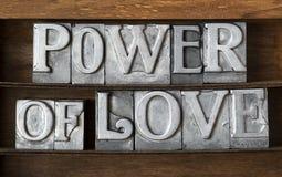 Potere del vassoio di amore Fotografia Stock Libera da Diritti
