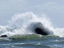 Potere dell'oceano Fotografia Stock