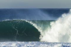 Potere dell'oceano di Wave Fotografie Stock