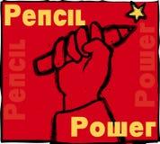 Potere della matita Immagini Stock