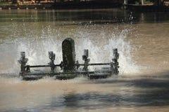 Potere della turbina idraulica Fotografia Stock Libera da Diritti