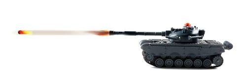 Potere di fuoco del carro armato Immagini Stock