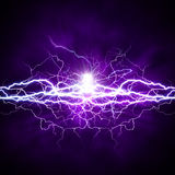 Potere di luce. Immagine Stock