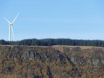 Potere futuro della turbina Fotografia Stock