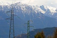 Potere nelle alpi Fotografia Stock