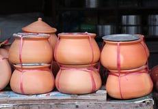 Poterie de terre thaïlandaise Photographie stock