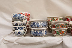Poterie roumaine traditionnelle Photographie stock
