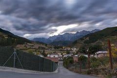 Potes Cantabria, España imágenes de archivo libres de regalías