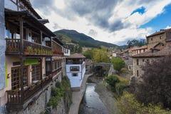 Potes Cantabria, Spagna immagini stock libere da diritti