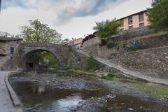 Potes Cantabria, Spagna fotografia stock