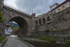 Potes Cantabria, Spagna immagine stock