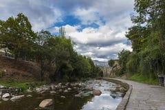 Potes Cantabria, Spagna fotografia stock libera da diritti