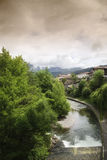 Potes in Cantabria Stock Image