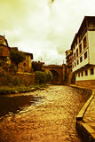 Potes in Cantabria Royalty Free Stock Image