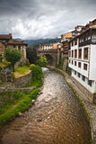 Potes in Cantabria Stock Images