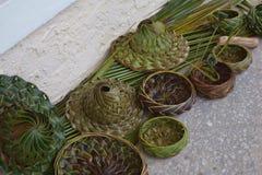 Potes de la hierba Fotografía de archivo libre de regalías