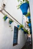 Potes de la pared en Córdoba Imagen de archivo libre de regalías