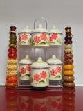 Potes decorativos Fotografía de archivo libre de regalías