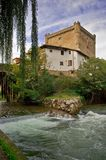 Potes tower Stock Images