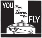 Potete imparare volare illustrazione di stock
