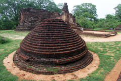 Potgul Vihara Royalty Free Stock Photo