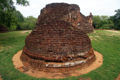 Potgul Vihara Royalty Free Stock Photos