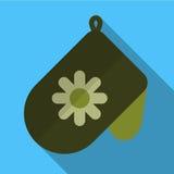 Potholder flat icon illustration Royalty Free Stock Photography