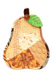 Potholder pear Royalty Free Stock Images