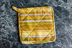 Potholder on the table Royalty Free Stock Images