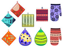 Potholders Royalty Free Stock Photography
