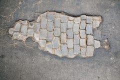 Pothole Royalty Free Stock Photography