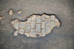 Pothole 02 Royalty Free Stock Image