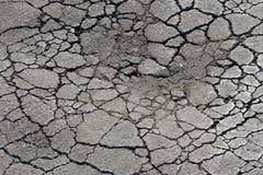 Pothole van het asfalt royalty-vrije stock fotografie